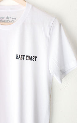NYCT Clothing East Coast Tee - White