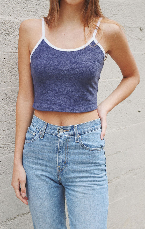 NYCT Clothing French Terry Crop Cami