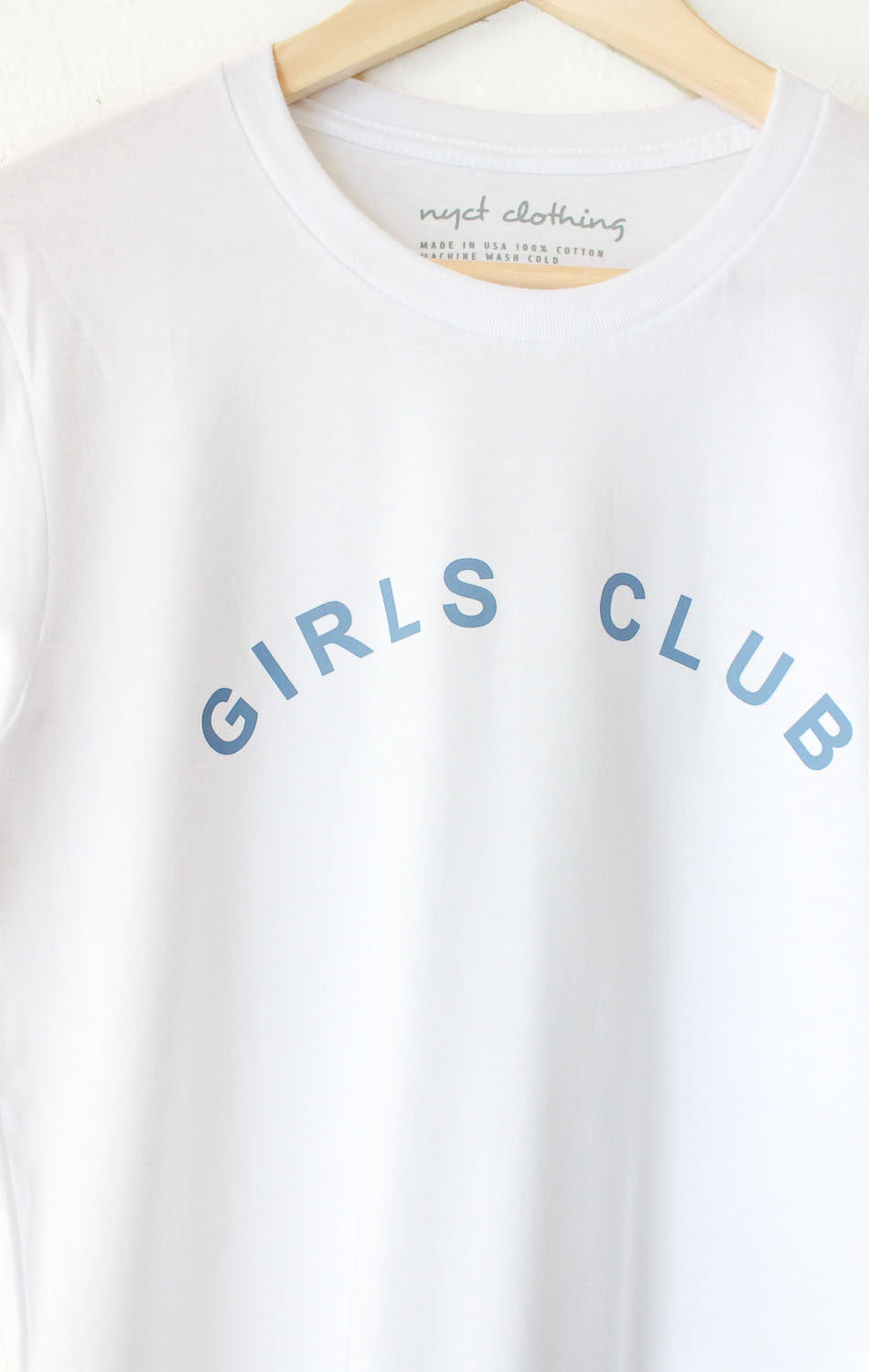 NYCT Clothing Girls Club Tee