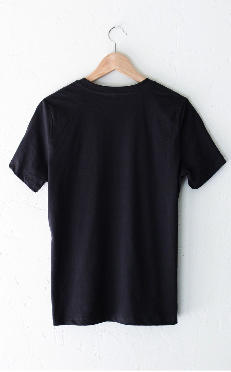 Go Away Relaxed Tee - Black