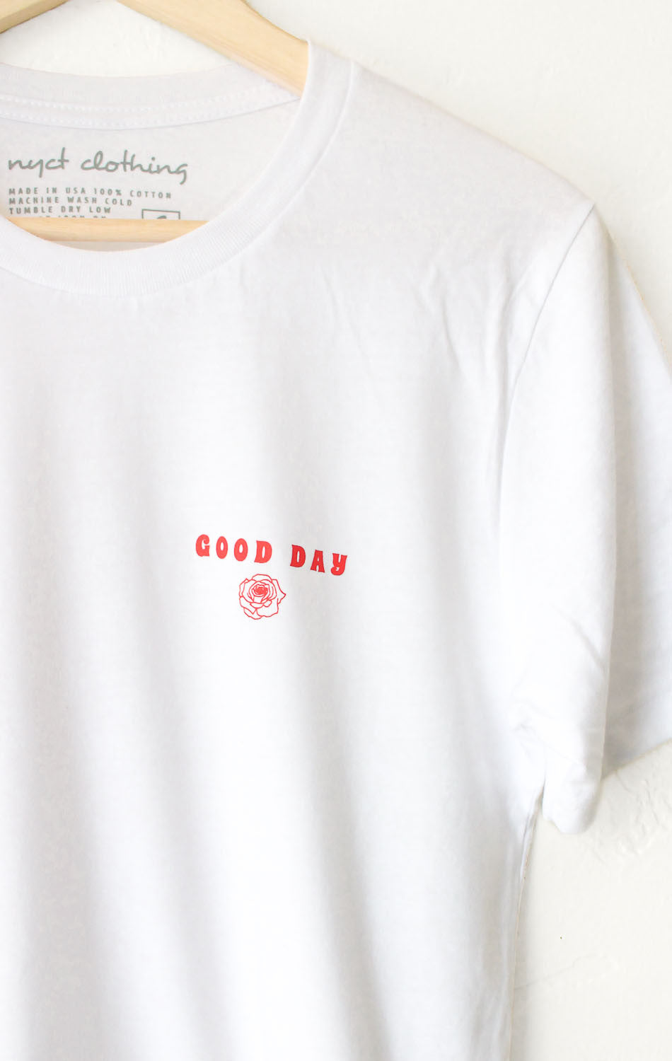 NYCT Clothing Good Day Cropped Tee