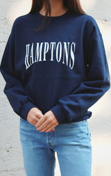 NYCT Clothing Hamptons Sweatshirt - Navy
