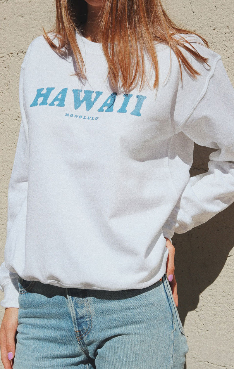NYCT Clothing Hawaii Oversized Sweatshirt