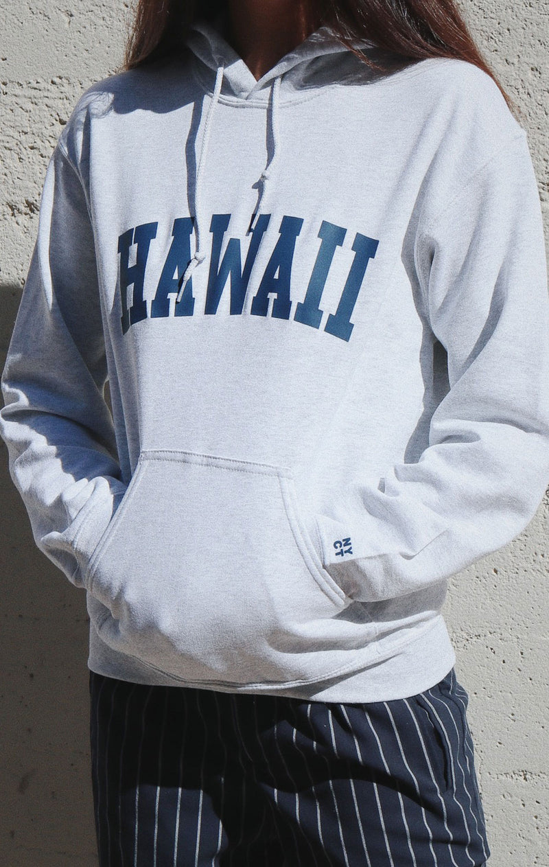 NYCT Clothing Hawaii Hoodie - Ash Grey
