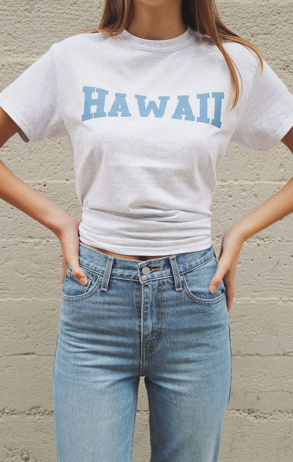 NYCT Clothing Hawaii Tee - Ash Grey