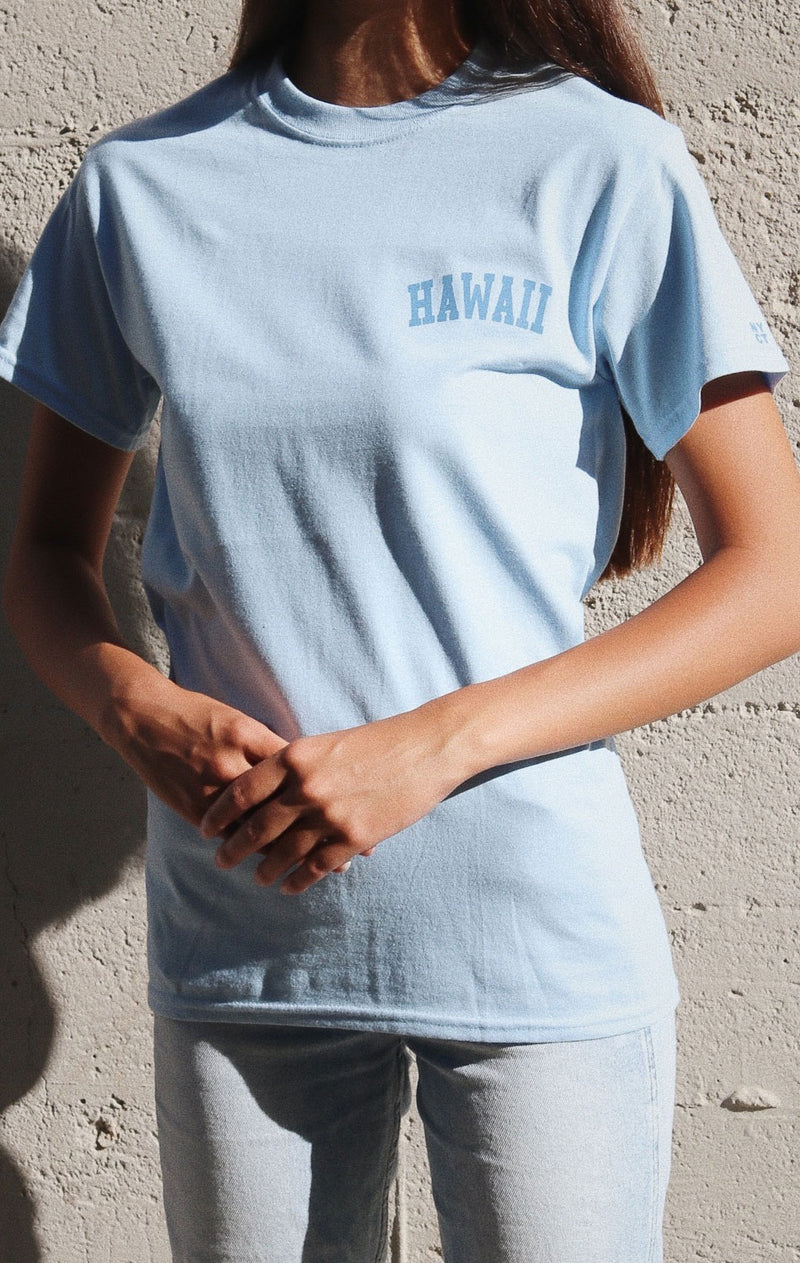 NYCT Clothing Hawaii T-shirt - Light Blue