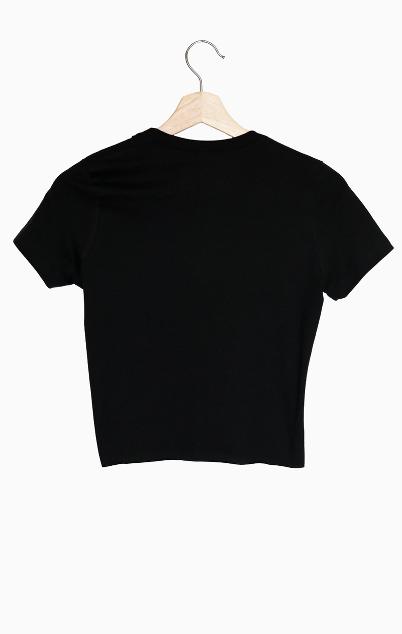 NYCT Clothing Hey Babe Cropped Tee