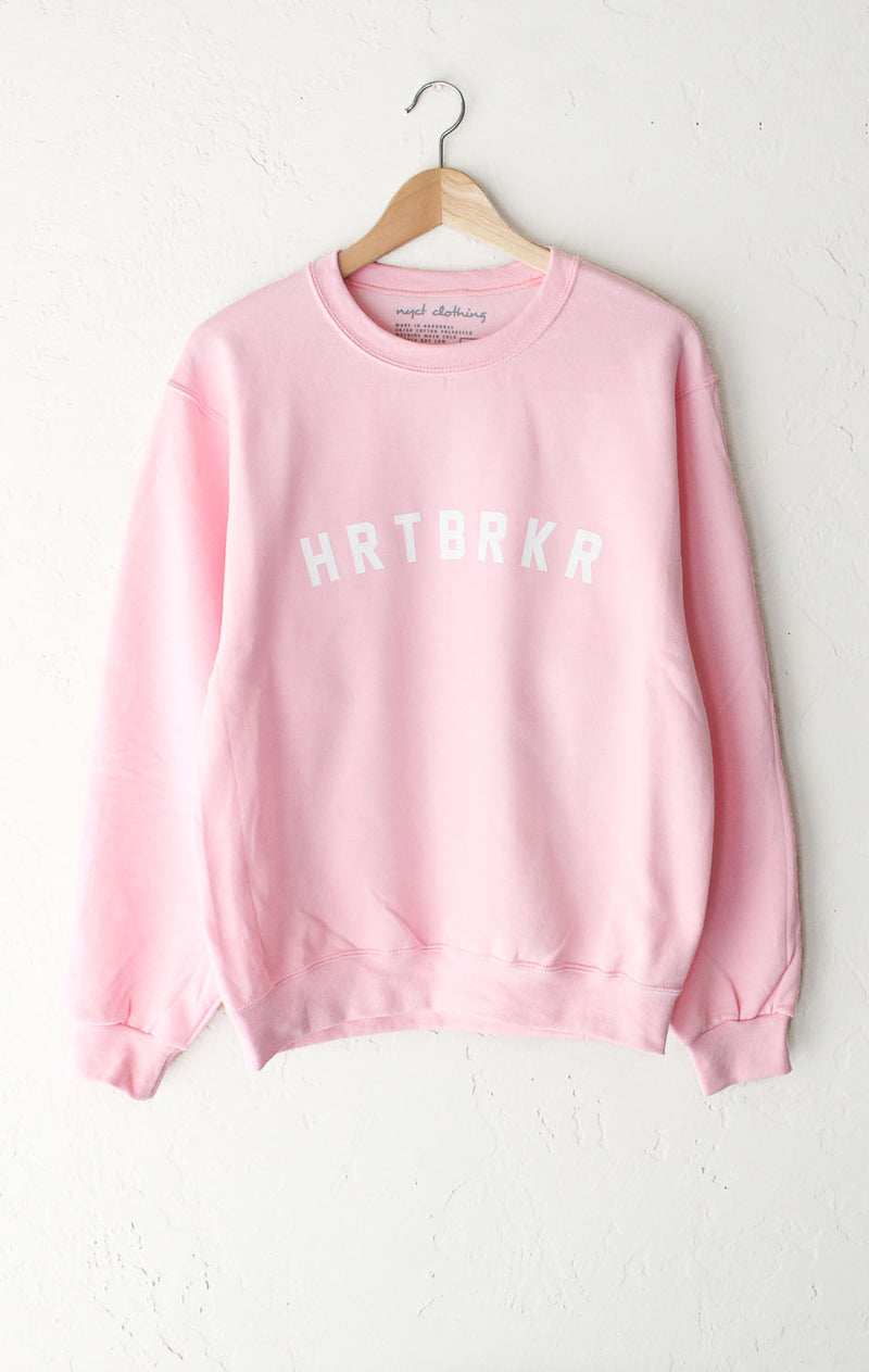 HRTBRKR Sweater - Pink