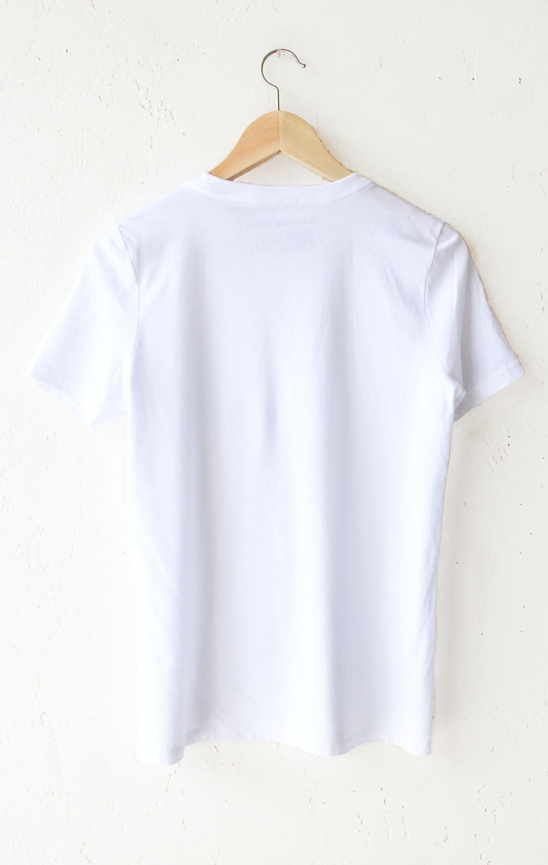 I Feel Like A Mermaid Relaxed Tee - White