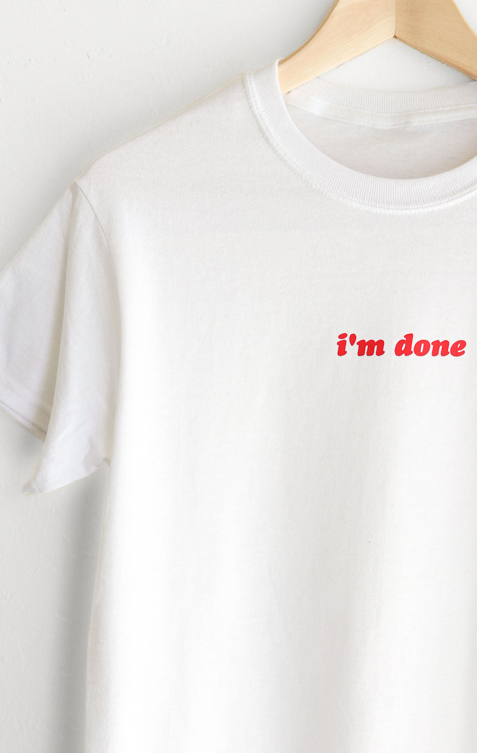 NYCT Clothing I'm Done Tee