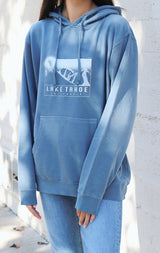 NYCT Clothing Lake Tahoe Hoodie - Vintage Blue