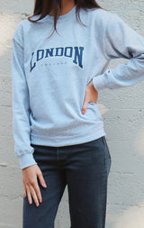 NYCT Clothing London Sweatshirt - Grey
