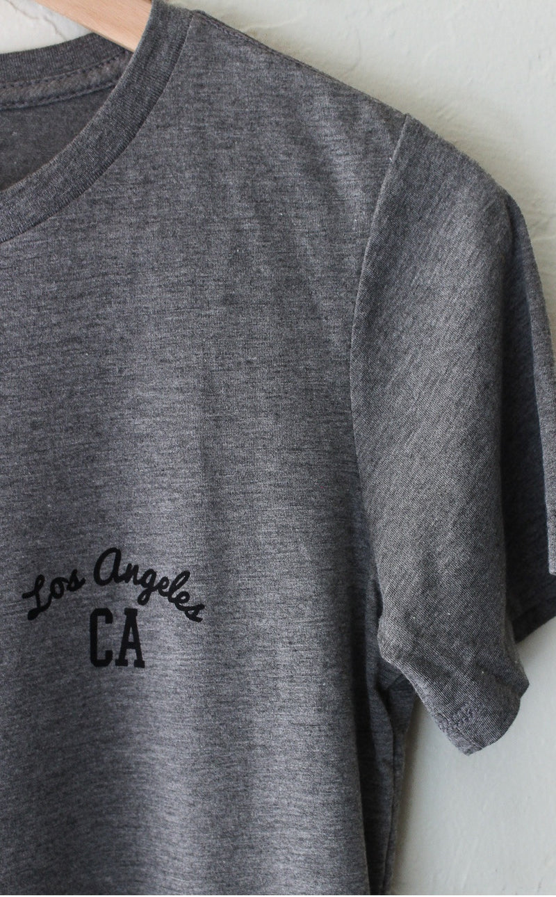 Los Angeles CA Relaxed Tee - Grey