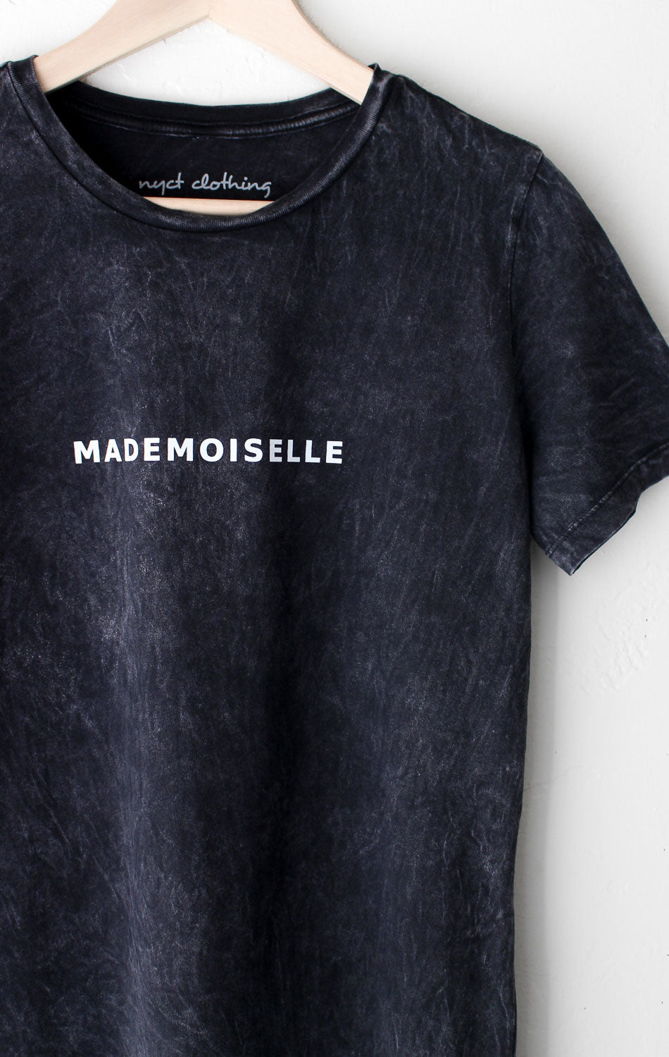 NYCT Clothing Mademoiselle Relaxed Tee - Acid Wash
