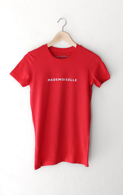 NYCT Clothing Mademoiselle Tee - Red