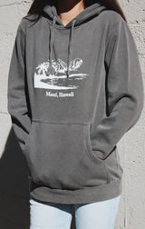 NYCT Clothing Maui Beach Hoodie - Vintage Black