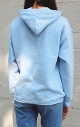 NYCT Clothing NYCT Nature Graphic Hoodie - Light Blue