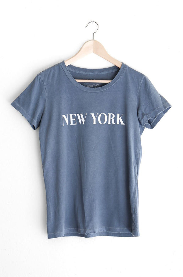 NYCT Clothing New York Destroyed Tee