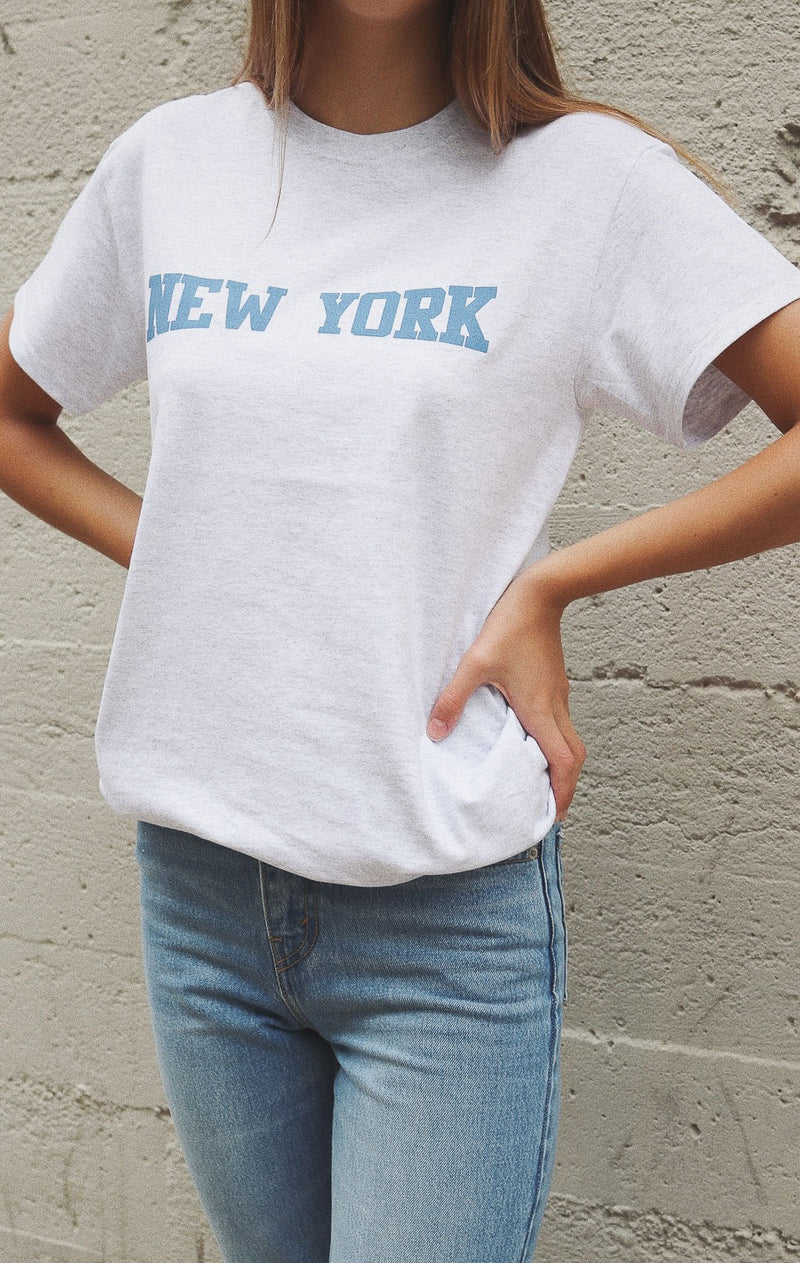 NYCT Clothing New York Tee - Ash Grey