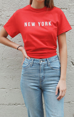 NYCT Clothing New York Tee - Red