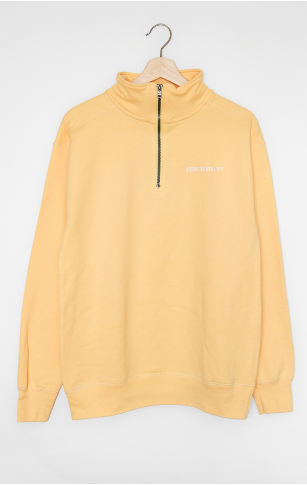NYCT Clothing New York, NY Half Zip Sweatshirt