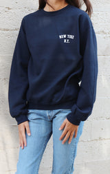 NYCT Clothing New York, NY Sweatshirt - Navy