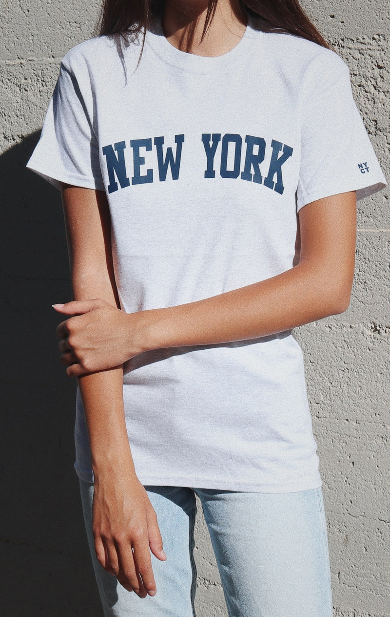 NYCT Clothing New York T-shirt - Ash Grey
