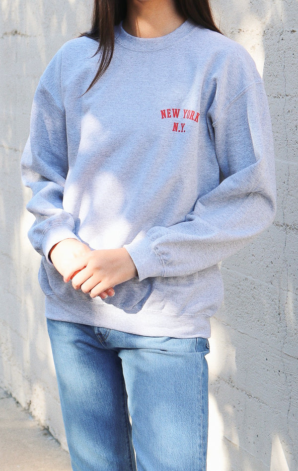 NYCT Clothing New York, NY Sweatshirt - Grey