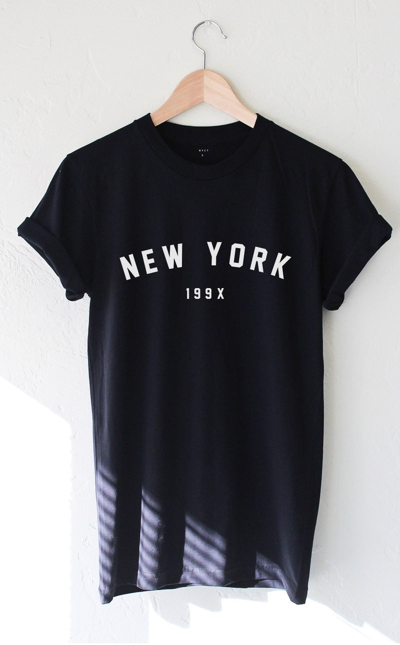 NYCT Clothing New York 199x T-shirt - Black