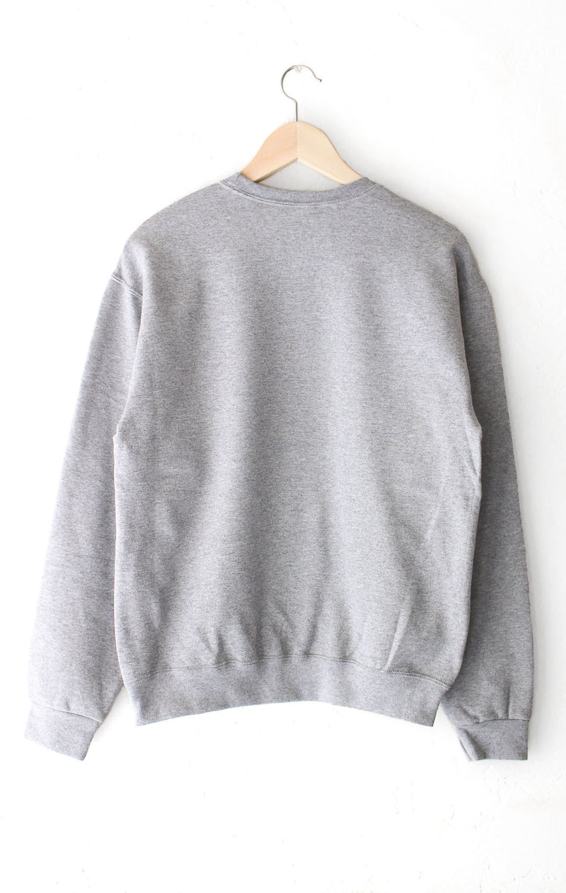 NYCT Clothing West Coast Oversized Sweatshirt - Grey