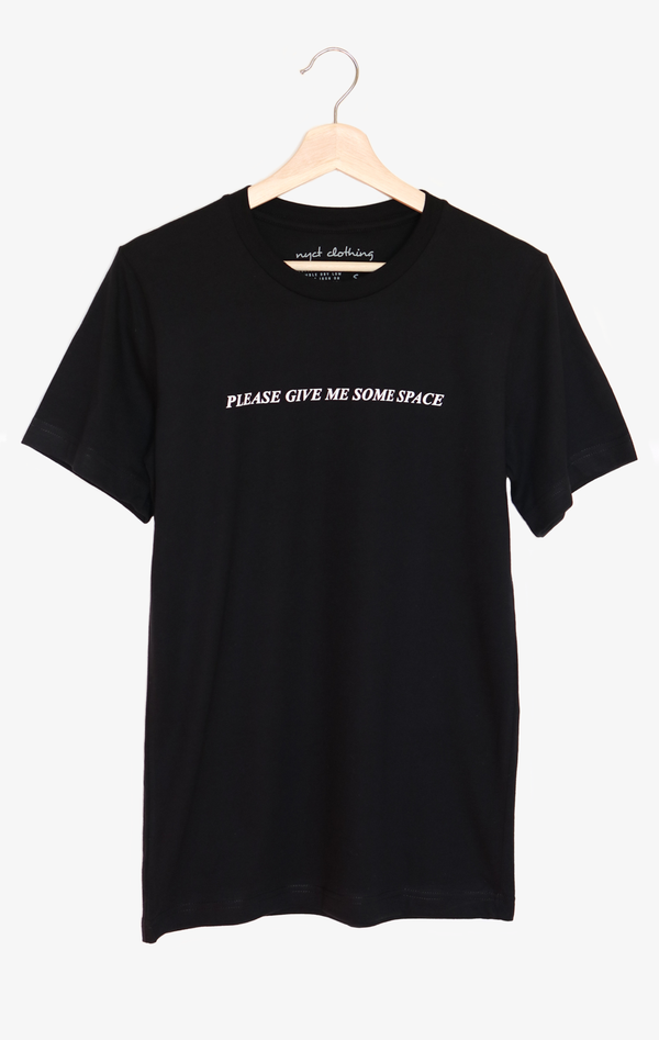 NYCT Clothing Please Give Me Some Space Tee