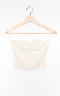 NYCT Clothing Ruched Tube Top