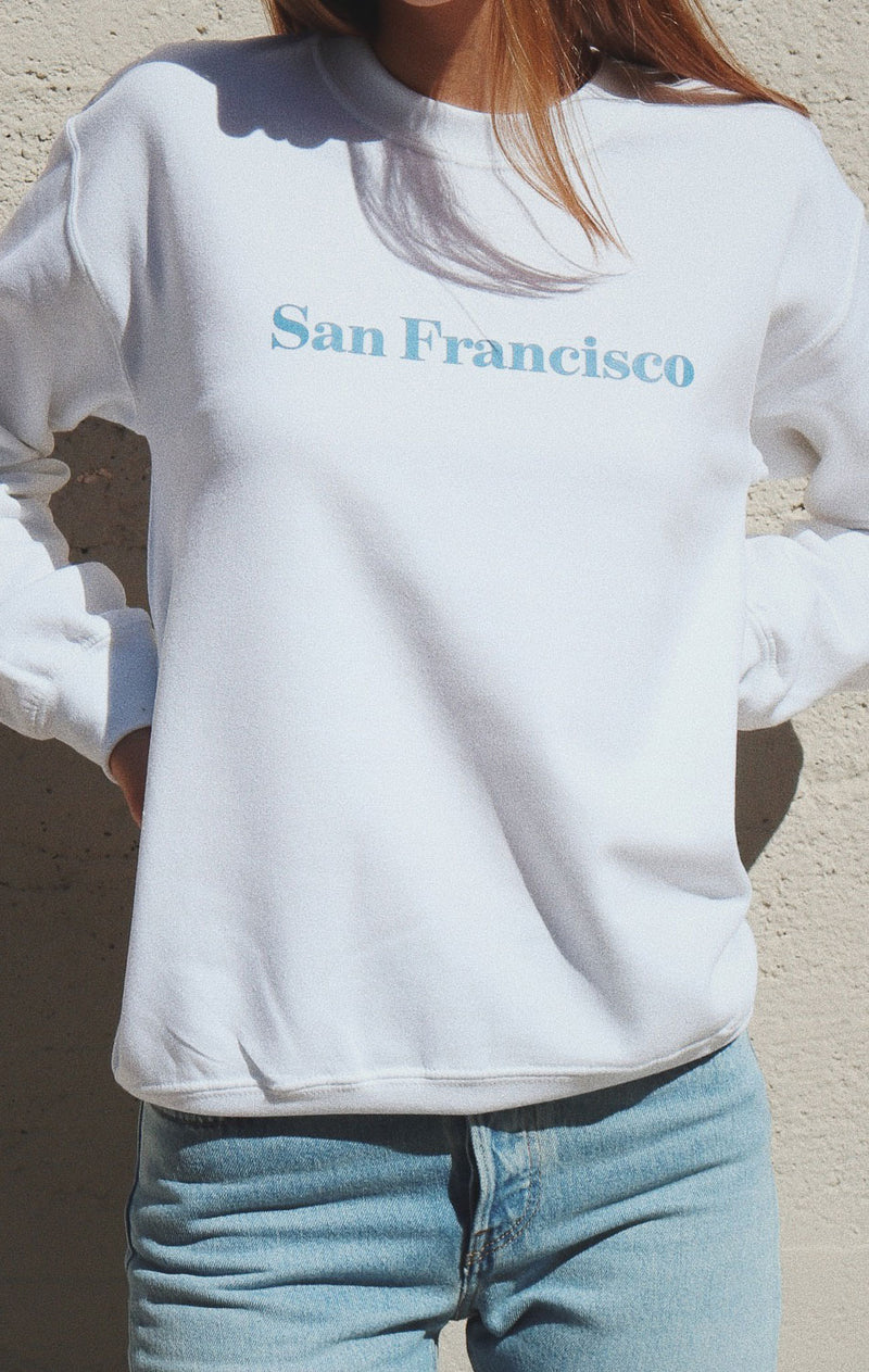 NYCT Clothing San Francisco Oversized Sweatshirt