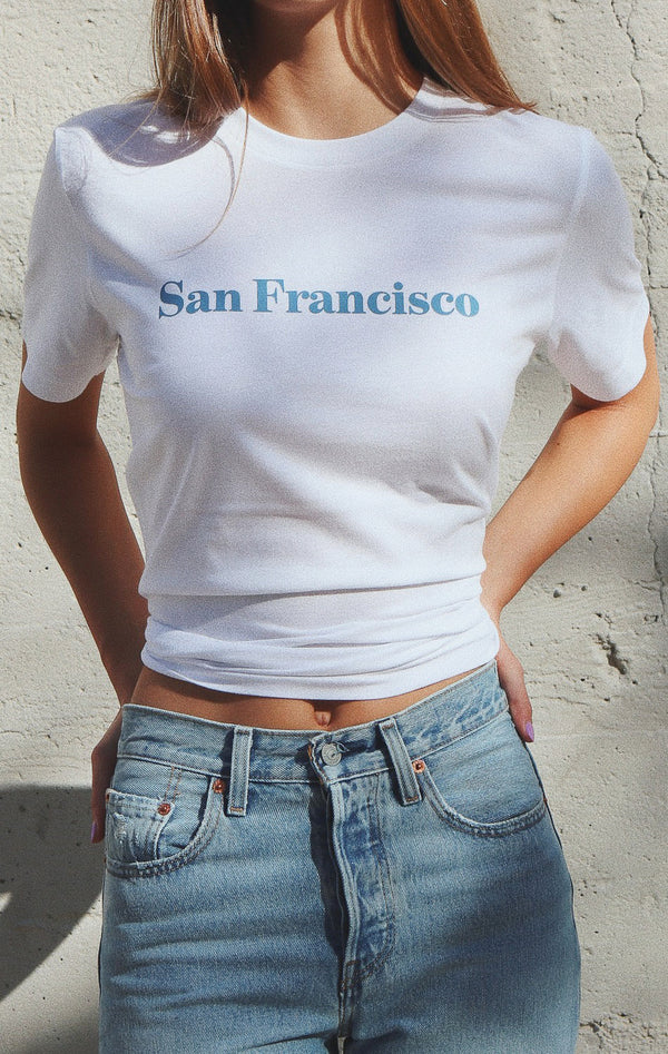 NYCT Clothing San Francisco Tee - White