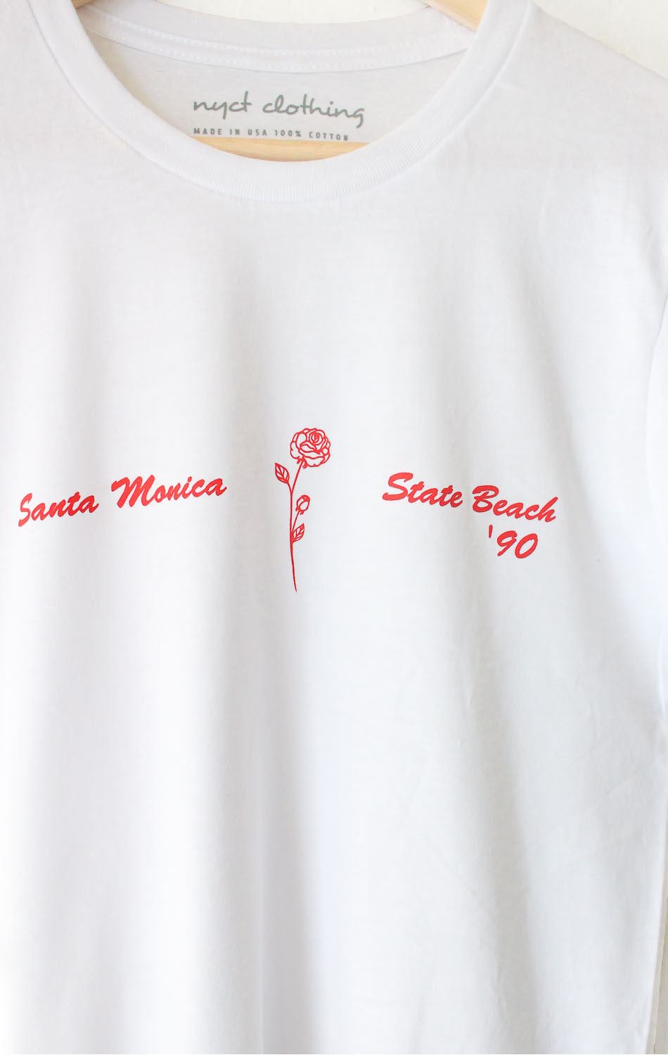 NYCT Clothing Santa Monica State Beach '90 Tee