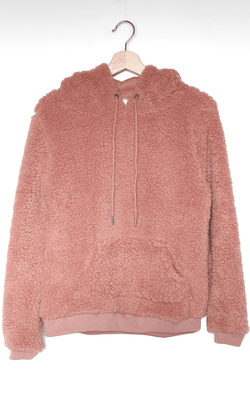 NYCT Clothing Fluffy Sherpa Hoodie