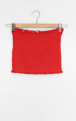 NYCT Clothing Smocked Tube Top
