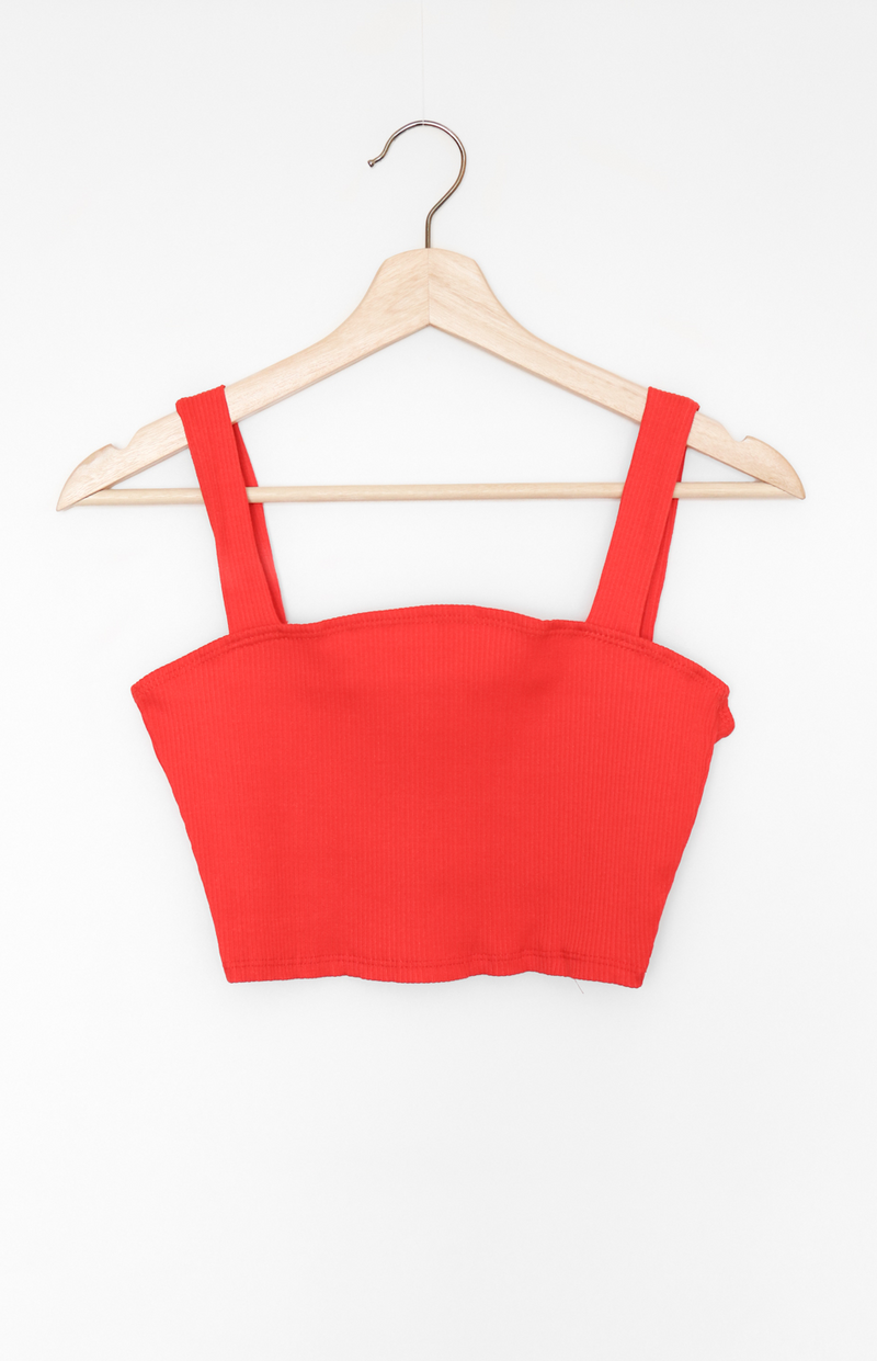 NYCT Clothing Square Neck Crop Top