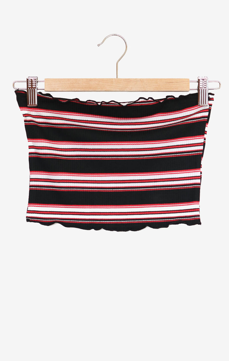 NYCT Clothing Striped Tube Top