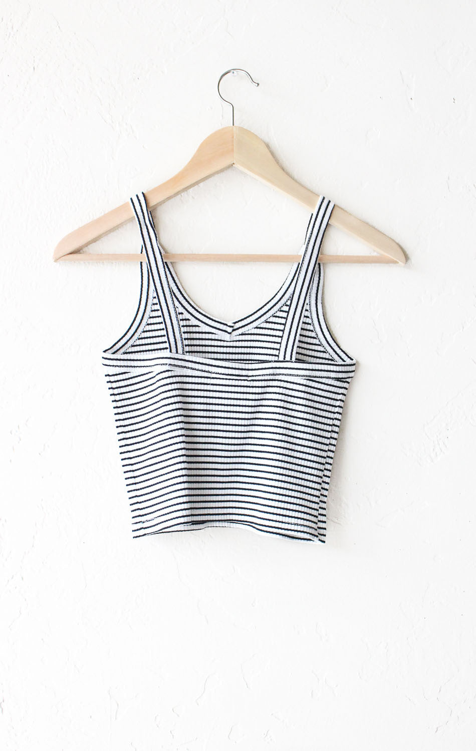 Striped Cami Crop Top