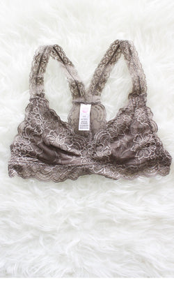 2c622d95c9 Racerback Lace Bralette - Taupe – NYCT CLOTHING