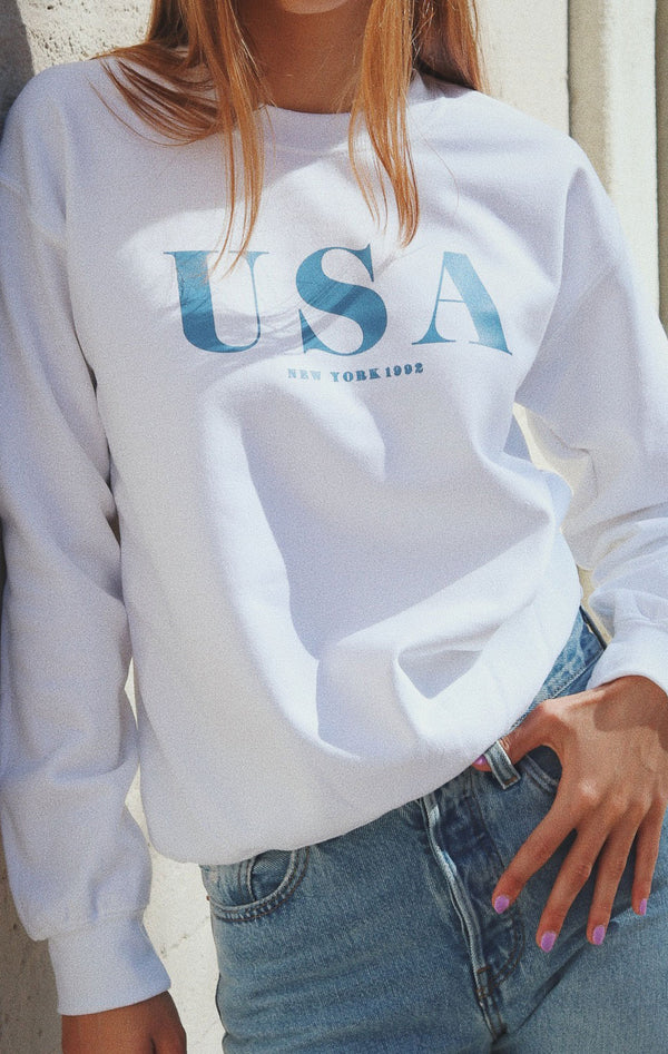 NYCT Clothing USA New York Oversized Sweatshirt