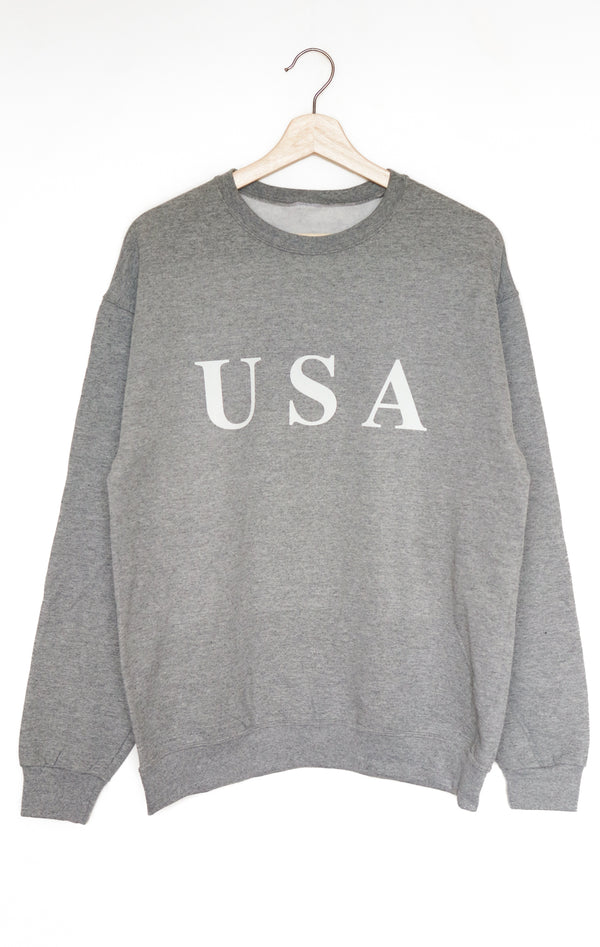 NYCT Clothing USA Oversized Sweatshirt - Grey