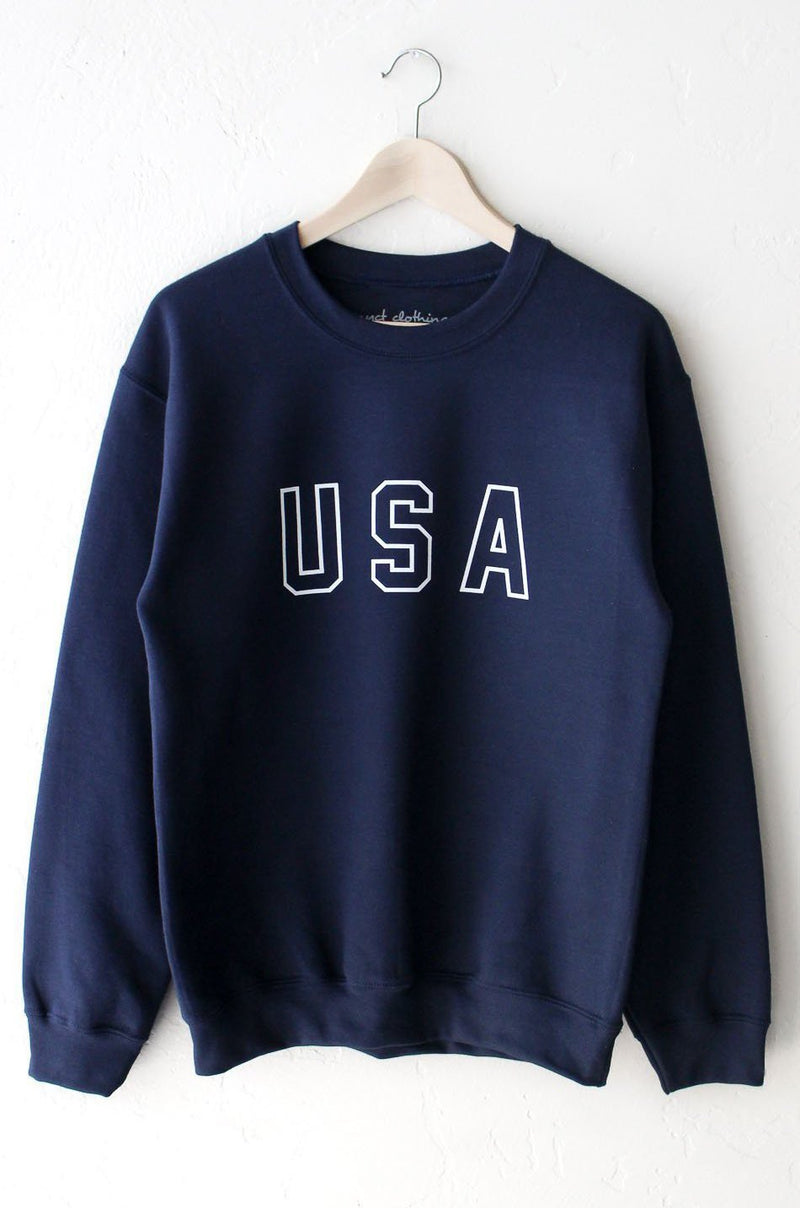 NYCT Clothing USA Oversized Sweatshirt