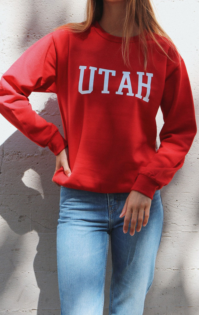 NYCT Clothing Utah Sweatshirt - Red