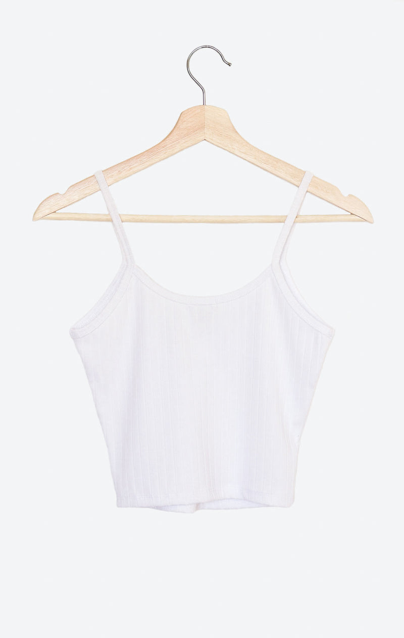 NYCT Clothing V-neck Cami Crop Top
