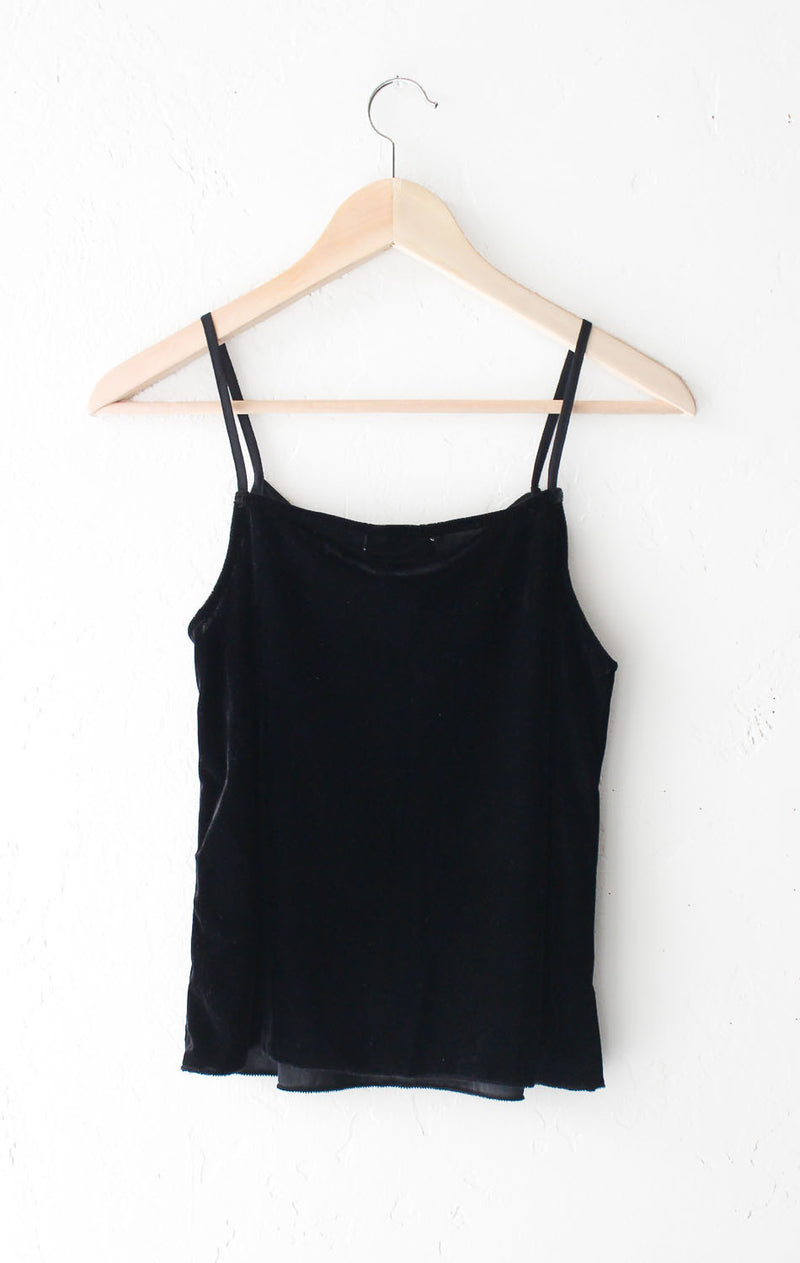 NYCT Clothing Velvet Tank Top
