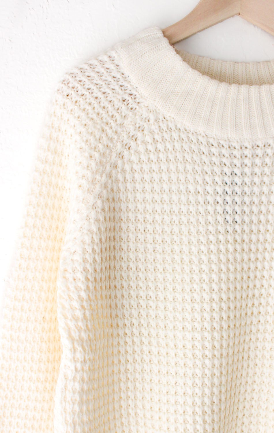 NYCT Clothing Cream Knit Sweater