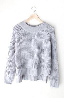 NYCT Clothing Grey Knit Sweater