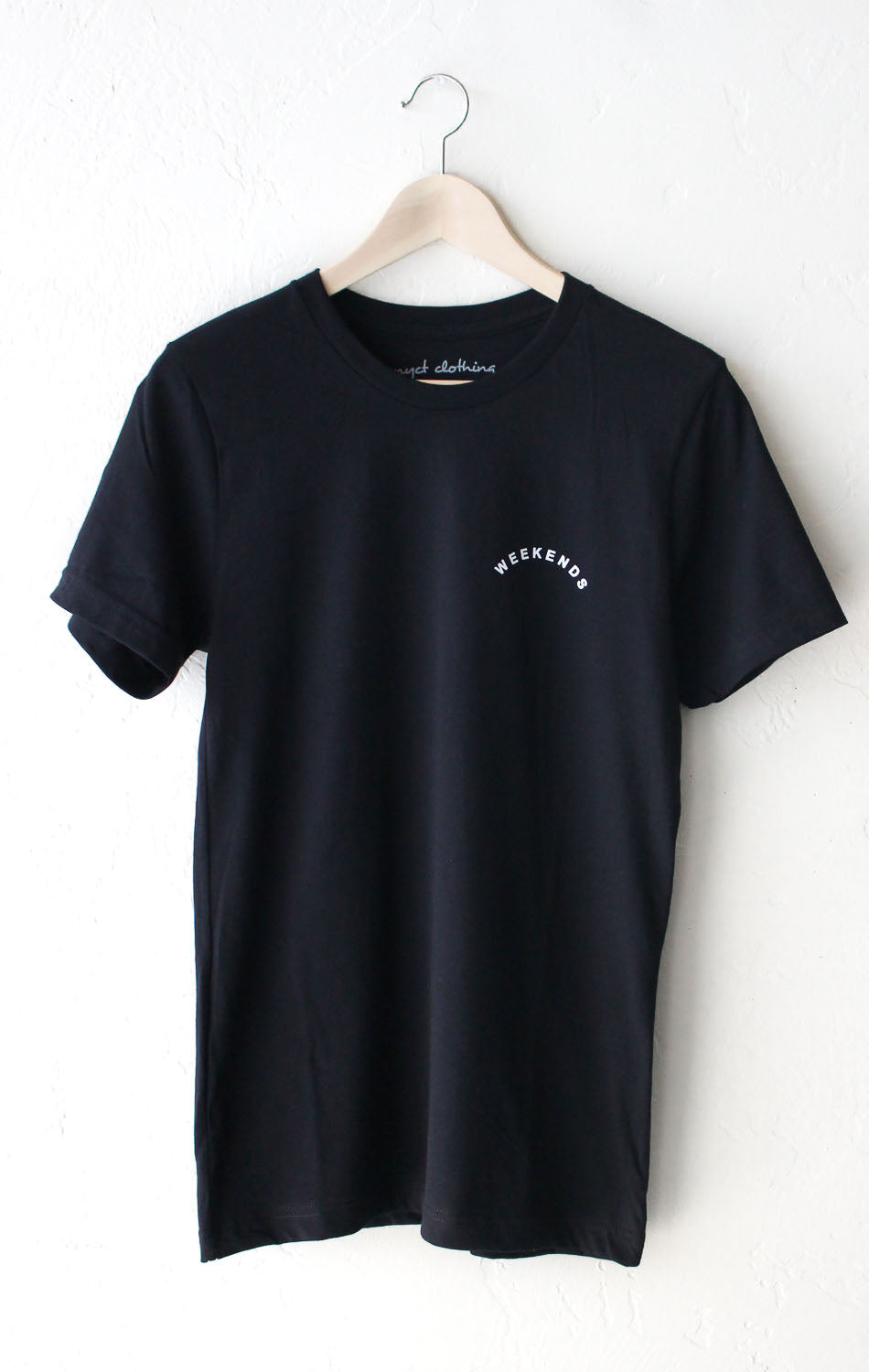 NYCT Clothing Weekends Tee - Black